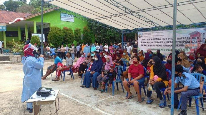 Momen Meriahkan HUT Ke-9 Provinsi Kaltara, RSUD Tarakan Target Sehari Suntikkan 1.000 Dosis