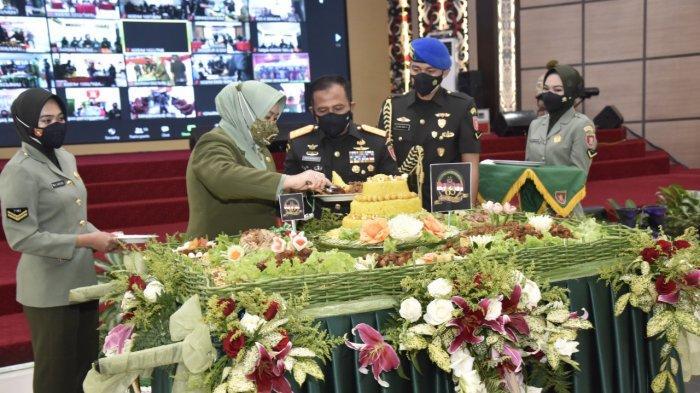 HUT ke 63 Kodam VI/Mulawarman, Gubernur Kaltim Isran Noor Harapkan Solidaritas