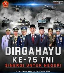 Dirgahayu TNI, Sinergi untuk Negeri