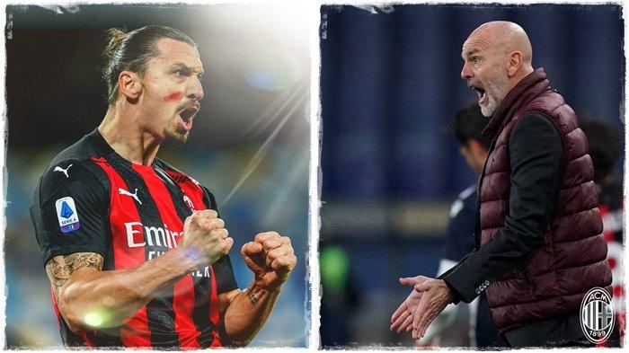 AC Milan Pincang Lawan Liverpool di Liga Champions, Ibrahimovic Tak Dibawa Stefano Pioli