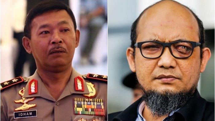 Dua Polisi Anak Buah Idham Aziz Serang Penyidik KPK Novel Baswedan, Kapolri Minta Ini Dikedepankan
