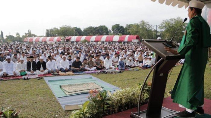 Resmi dari Kemenag, Panduan Shalat Idul Adha 1441 H di Fase New Normal, Perhatikan Soal Kotak Infaq