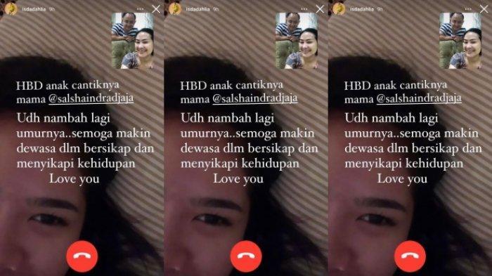 Iis Dahlia beri ucapan selamat ulang tahun untuk anaknya, Salshadilla