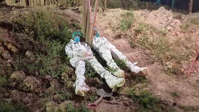 TNI-Polri Turun Tangan Bantu Pemakaman Pasien Positif Covid-19 di Berau