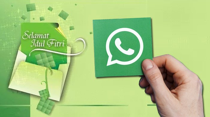 KUMPULAN Pantun Ucapan Lebaran Idul Fitri 2021, Cocok Dikirim Buat Keluarga dan Teman Lewat WhatsApp
