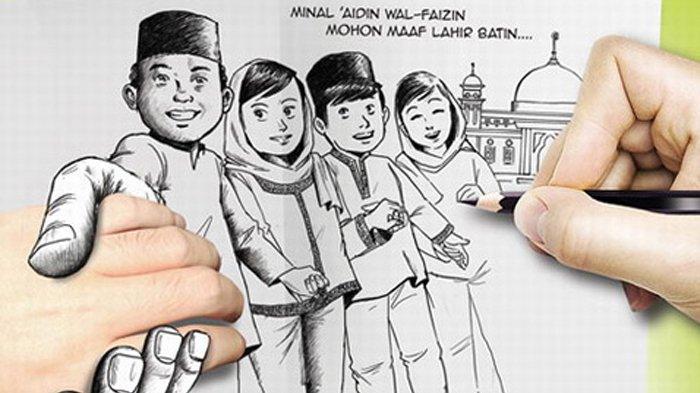 Aplikasi Online Buat Kartu Ucapan Selamat Idul Fitri 1441 H Versi Sendiri, Ada Video Animasi Lebaran