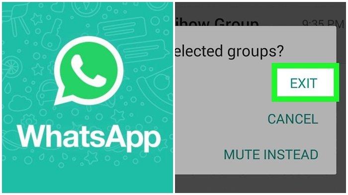 Cara Keluar Grup <a href='https://manado.tribunnews.com/tag/whatsapp' title='WhatsApp'>WhatsApp</a> Diam-diam tanpa Ketahuan Teman - Halaman all -  Tribun Kaltim