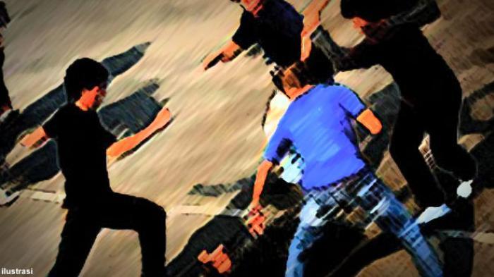 Gara-gara Uang Parkir, Empat Pemuda Keroyok Bripda Irsan di Halaman Mini Market