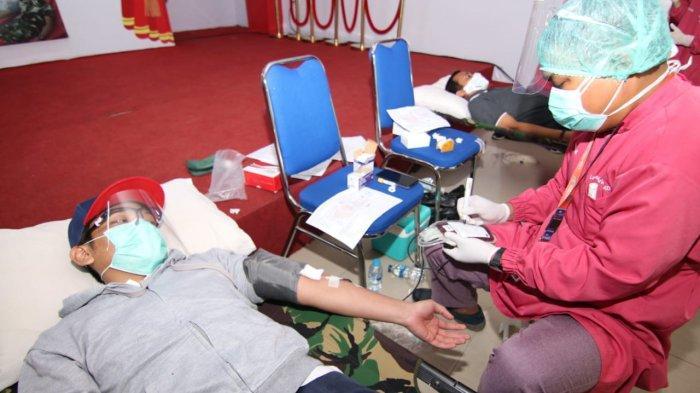Ilustrasi masyarakat Kota Balikpapan melakukan donor plasma konvalesen untuk membantu penyembuhan pasien Covid-19. TRIBUNKALTIM.CO/DWI ARDIANTO