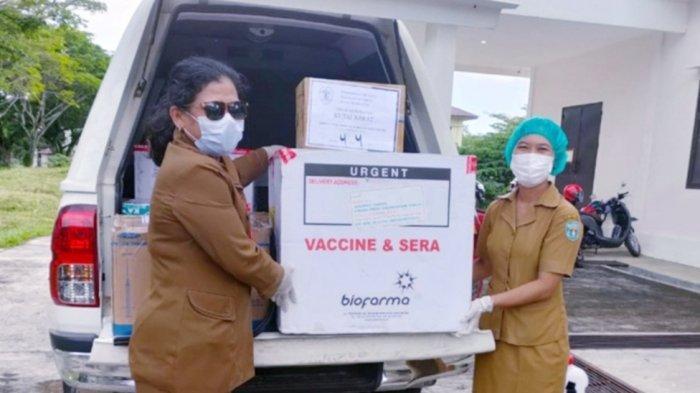 Kejar Target Vaksinasi, Dinkes Kutai Barat Mulai Distribusikan Vaksin Tiap Kecamatan