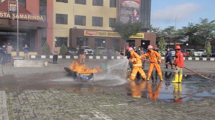 Cuaca Panas di Samarinda, Polresta Samarinda juga Waspadai Kebakaran Hutan dan Lahan