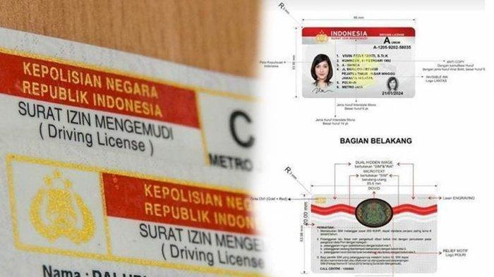 Tahukah Anda, Ternyata Ada 6 Jenis SIM yang Beredar di Indonesia, Lengkap dengan Biaya Pembuatannya