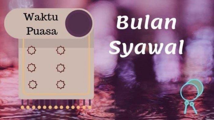 Selain Puasa Sunnah Syawal 6 Hari, Ini Amalan-amalan Sunnah yang Dianjurkan di Bulan Syawal