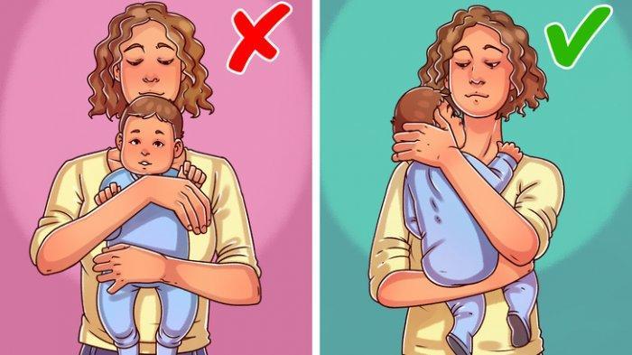Berbahaya Inilah 6 Cara Menggendong dan Memegang Bayi ini Dapat Membahayakan Kesehatan Anak Anda