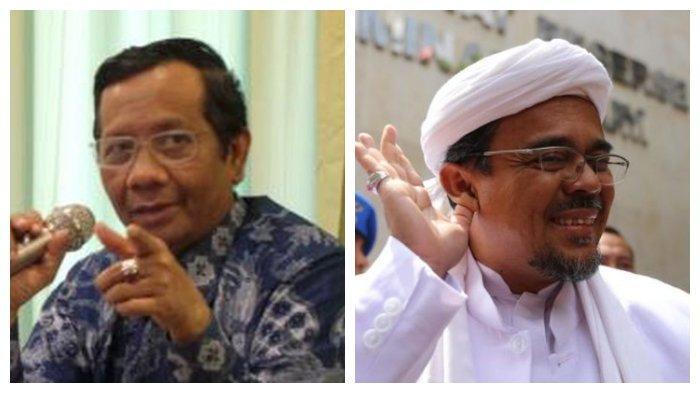 Imigrasi Bingung Rizieq Shihab Punya Surat Pencekalan, Mahfud MD Tantang Imam Besar  FPI
