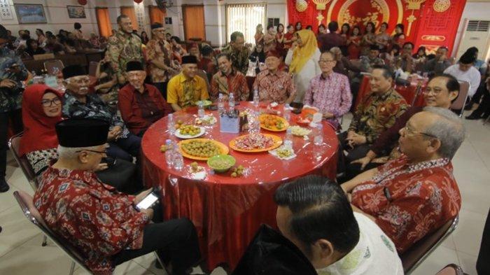 Wagub Kaltim Hadiri Perayaan Imlek,Hadi Mulyadi Tegaskan Jaga Kedamaian Itu Merupakan Peran Bersama