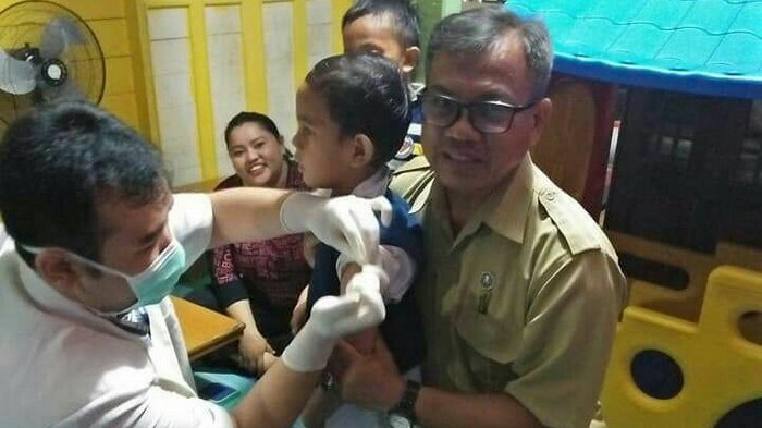 Cegah KLB Difteri, Dinkes Gelar Imunisasi Massal