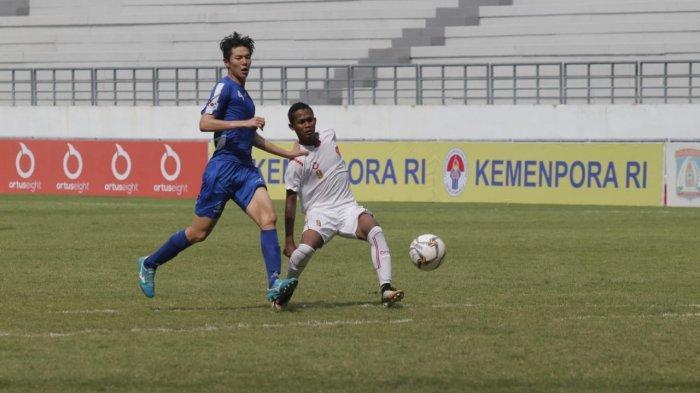 Kerjasama Sulistianto dan Supriadi Hasilkan Gol Pembuka ke Gawang Korsel, Indonesia Unggul Sementara