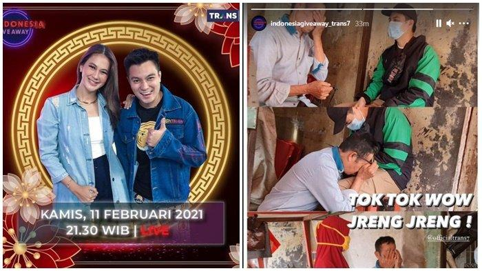Edisi Khusus Imlek, Indonesia Giveaway Hari Ini Episode Berapa? Perang WhatsApp & Tok Tok Wow Jreng