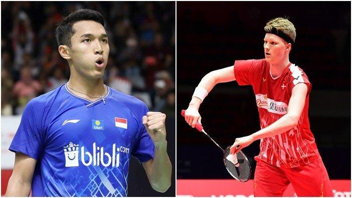 Indonesia Master 2020 Jumat 17 Januari 2020, Jonatan Christie Tantang Anders Antonsen, Ambisi Juara