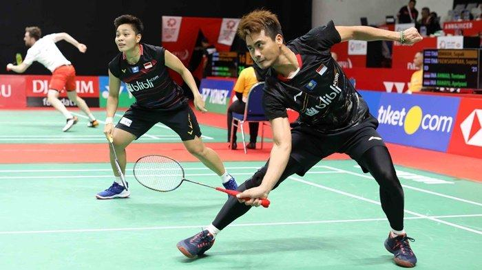 Indonesia Masters 2020 Jadi Debut Tontowi Ahmad/Apriyani Rahayu, Lolos Kualifikasi Kalahkan Thailand