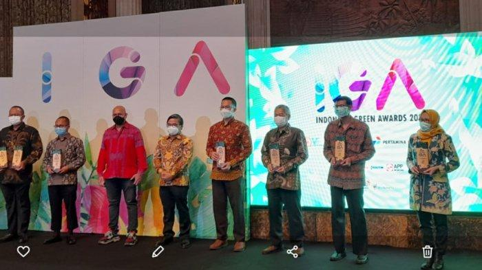 PLN Jaga Kelestarian Lingkungan, Berdayakan Masyarakat, Raih The Best Indonesia Green Awards 2021