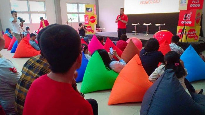 Indosat Ooredoo Edukasi Program Freedoom Internet ke Mahasiswa dan Konten Kreator Balikpapan Kaltim