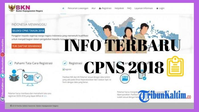 Wajib Disimak, Aturan Baru BKN untuk Peserta yang Lolos Tes CPNS 2018, Ada Sanksi bagi Pelanggar