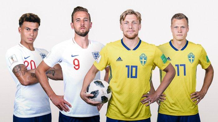Jejak Buruk Inggris Kala Bersua Swedia