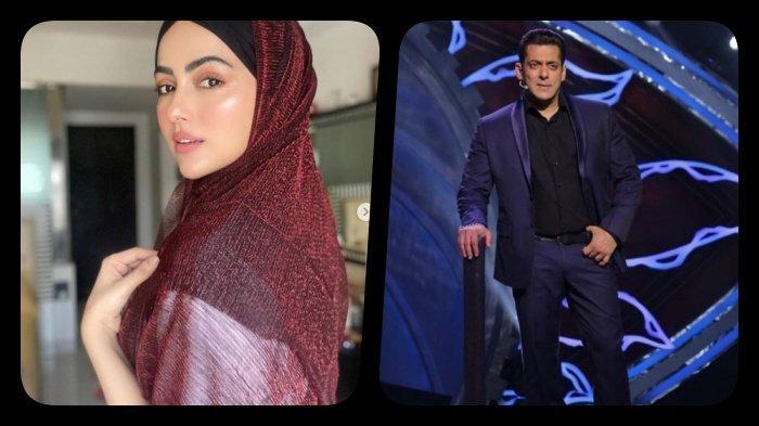 Ingin memperdalam Islam, artis Sana Khan pilih mundur dari dunia hiburan Bollywood, pernah jadi lawan main Salman Khan di film Jai Ho (Instagram sanakhaan21/beingsalmankhan)