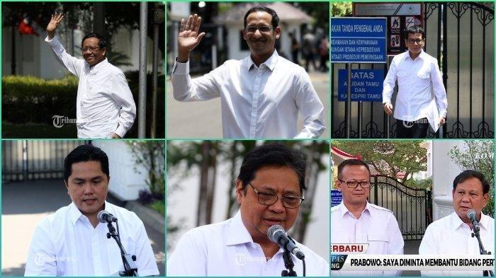 Daftar 33 Menteri Jokowi dan Prediksi Posisinya, Dilantik Rabu (23/10/2019), Tanpa Panglima TNI