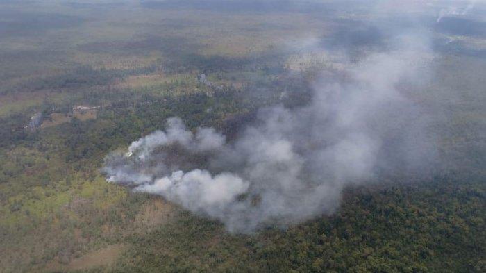 Hasill Tinjauan Forkopimda Pakai Helikopter, Karhutla Terparah Kalimantan Timur Ada di Kukar