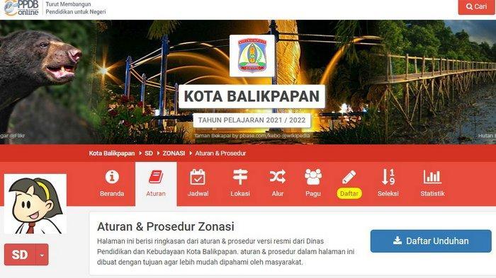 INILAH Link SIAP PPDB Balikpapan, Cek Aturan Umur per 1 Juli & Syarat Perpindahan Siswa SD dari Luar