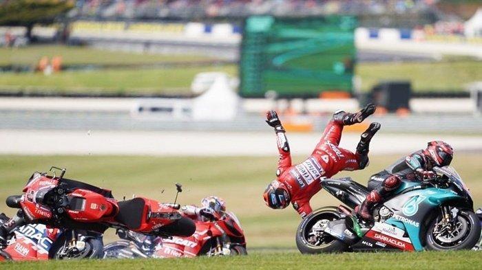 Jadwal MotoGP Malaysia 2019, Kompatriot Valentino Rossi Tuding Marc Marquez Usai Jatuh di Australia
