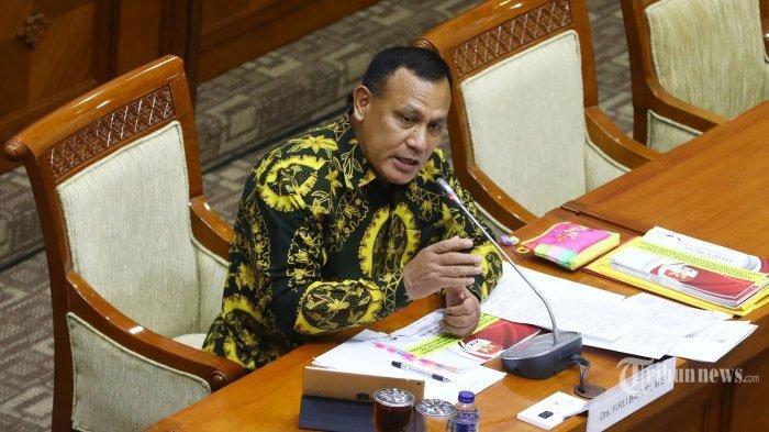 Disahkan Jadi Ketua KPK oleh DPR, Senyum Bahagia Terpancar dari Wajah Firli Bahuri