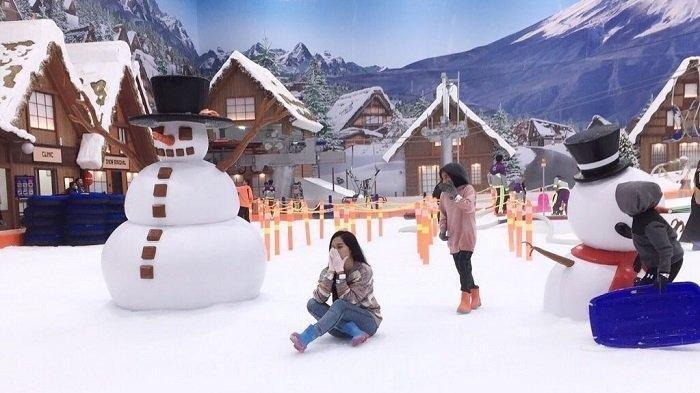 Ada Promo Hemat untuk 4 Orang dan Gratis Makan, Berikut Harga Tiket Masuk Trans Snow World Bintaro