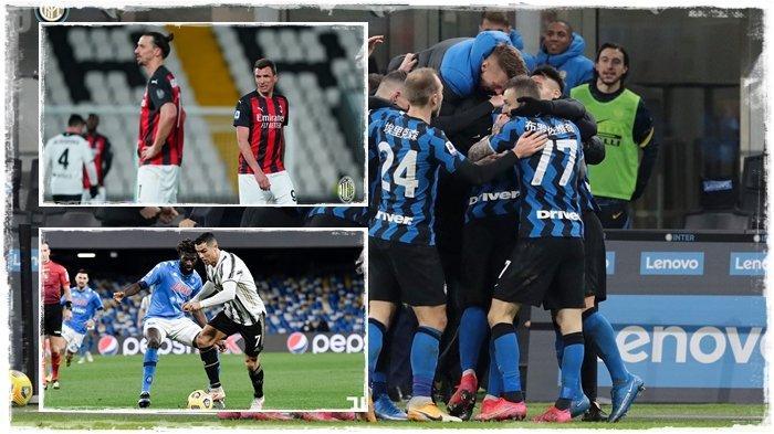 TERBARU Hasil, Klasemen & Top Skor Liga Italia, AC Milan Juve Tergusur, Inter Milan Penguasa Baru