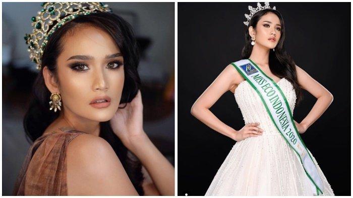 Gagap Jawab Pertanyaan Intan Wisni Disebut Bikin Malu Indonesia di Ajang Miss Eco International 2021