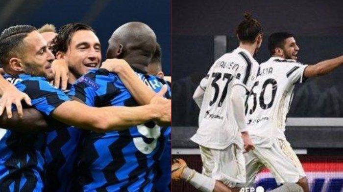 Liga Italia: Juventus Bentrok Inter Milan, Guru & Murid Tarung, AC Milan Untung? Live Streaming RCTI