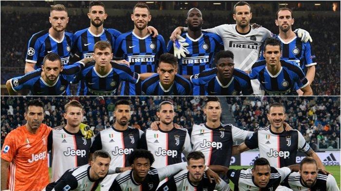 Jadwal Liga Italia Pekan Ini, Big Match Juventus vs Inter Milan Derby d'Italia, Jaga Kans Scudetto