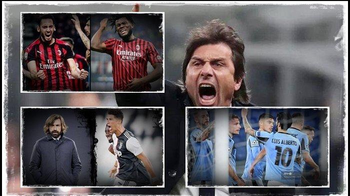 Hasil & Klasemen Liga Italia: Inter Milan Benamkan Lazio, Gusur Posisi AC Milan, Tinggalkan Juventus