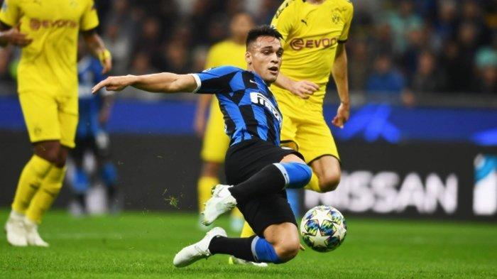 Liga Champions, Aksi Lautaro Martinez Bikin Borussia Dortmund Tertinggal dari Inter Milan