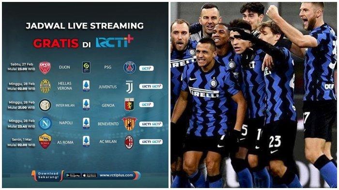 LIVE Streaming RCTI Liga Italia, Inter Milan vs Genoa, Eriksen Bikin Posisi Arturo Vidal Makin Rawan