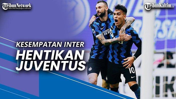 Update Liga Italia, Live Streaming RCTI Inter Milan vs Juventus, Eksperimen Conte Lawan Ronaldo Cs