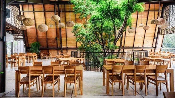 Miliki Konsep Saung Lesehan dengan Pemandangan Taman, Ini Restoran Sunda yang Instagramable di Bogor