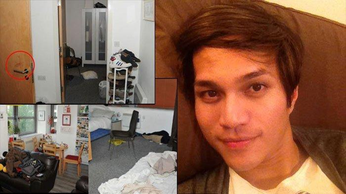 Intip Foto-foto Apartemen Reynhard Sinaga, Ada Bercak Darah di Pintu hingga Botol Minuman Kosong