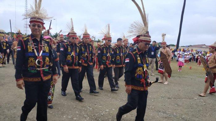 VIDEO - Meriahnya Pembukaan Festival Irau ke-9 di Kabupaten Malinau