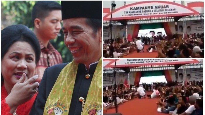 Iriana Terjungkal saat Menghampiri Jokowi Selfie, Andi Arief Prihatin dan Kecam Penyelenggara