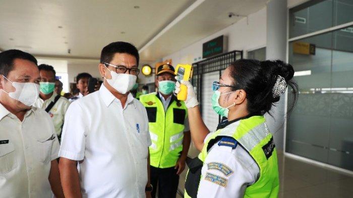 Cegah COVID-19, Gubernur Irianto Cek Langsung Pelabuhan Tengkayu I dan Bandara Juwata Tarakan