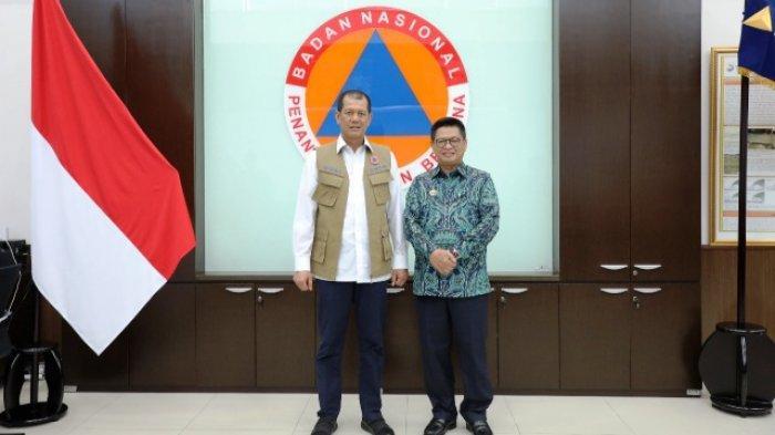 Atasi Abrasi Tanjung Aru, Gubernur Kaltara Temui Kepala BNPB Ajukan Proposal Penanganan 4 Sektor Ini